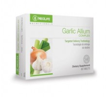 GARLIC ALLIUM COMPLEX - 60 tavolette